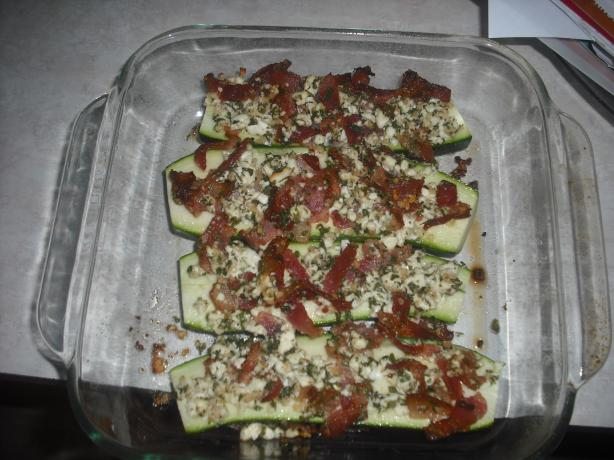 Terry's Feta-Bacon Zucchini