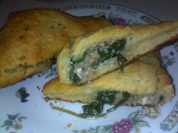 Ground Turkey Phyllo Pies