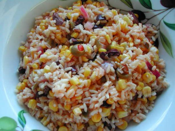 Comino Corn and Rice Salad