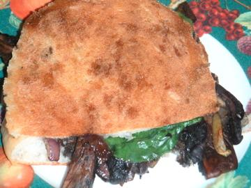 Grilled Portabella Sandwiches or Panini