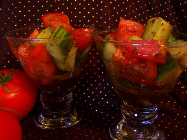 Linda's Tomato and Cucumber Mix