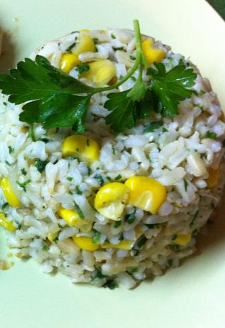 Easy Rice and Corn