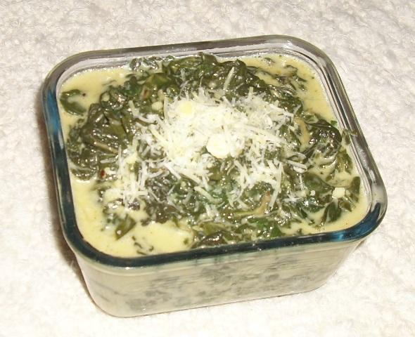 "Croatian ""blitva"" / or Spinach (The Other Way)"