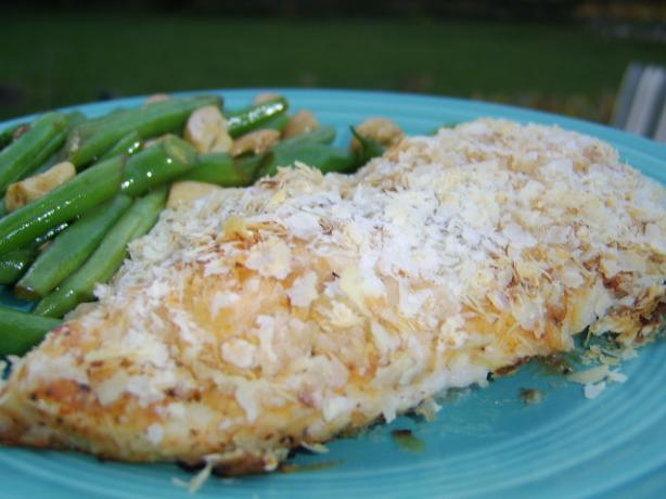 Potato Crusted Chicken