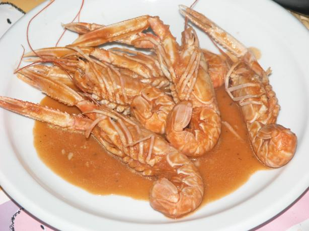 "Croatian ""buzara"" Shrimps"