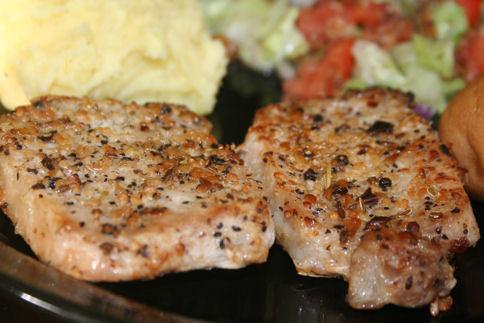 Saute Pork Chops