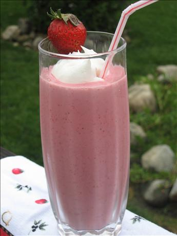 Frozen Strawberry Smoothie