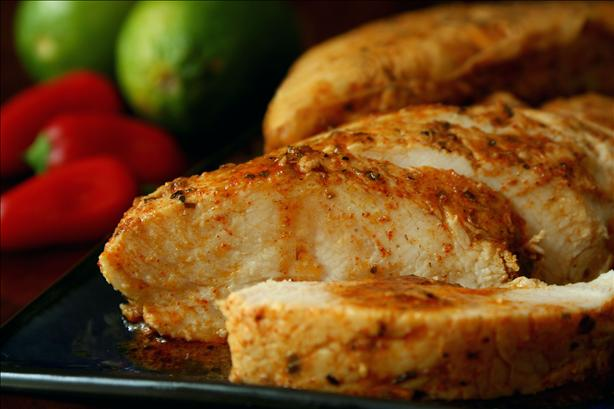 Chili-Lime Baked Turkey