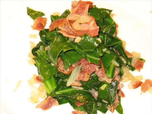 Stir Fry Collard Green