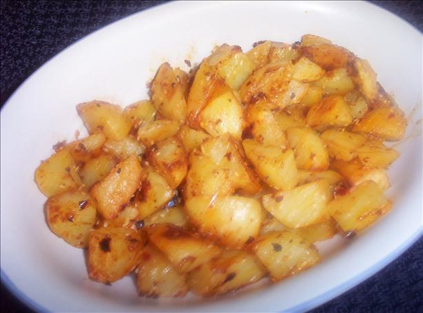 Moroccan Sesame Potatoes