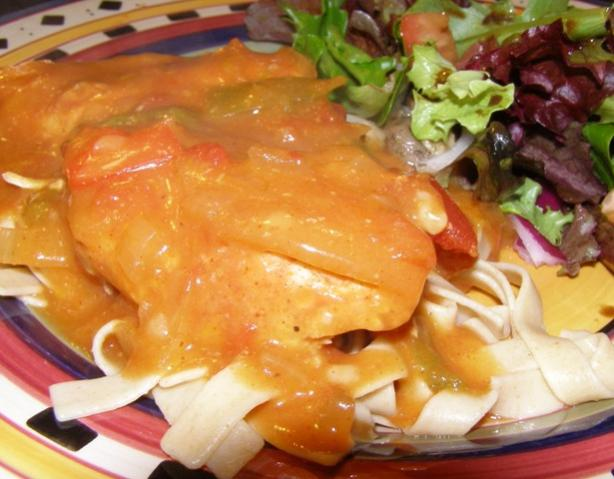 Slow-Cooked Italian Chicken