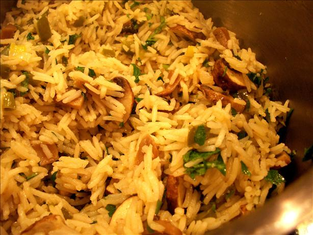 Green Rice (Stove-Top Method)