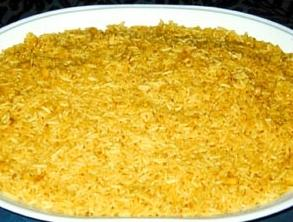 Festive Yellow Rice