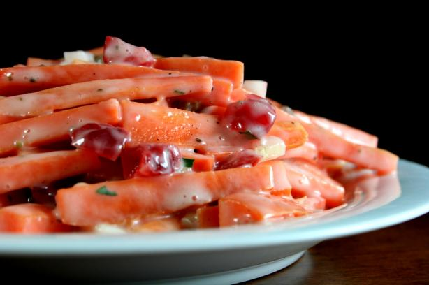 Carrot & Cranberry Salad