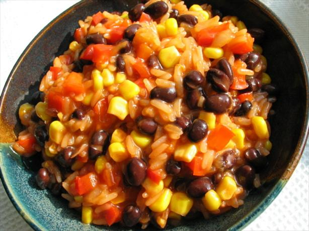 BBQ Black Beans and Rice