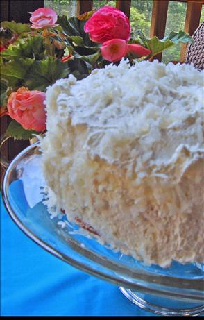 Halekulani Hotel Coconut Cake