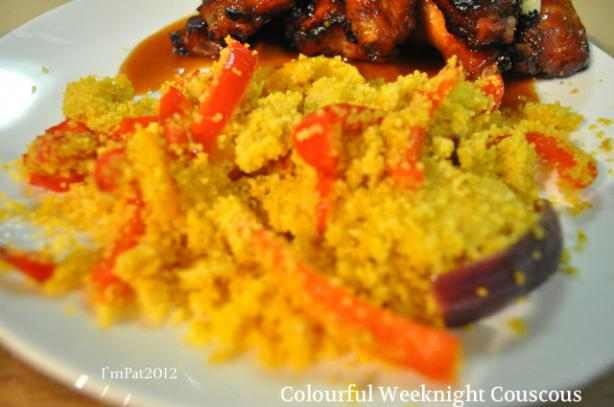 Colorful Weeknight Couscous