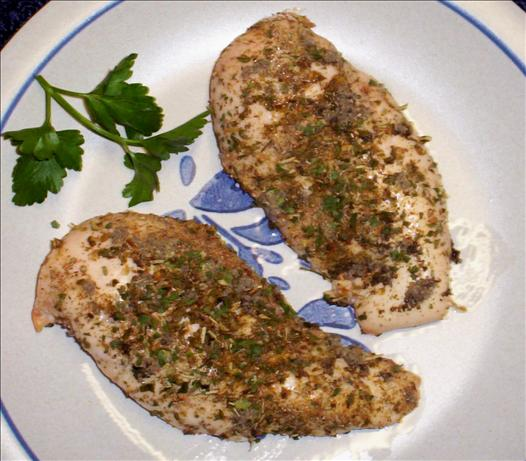 Herb Crusted Chicken Breasts