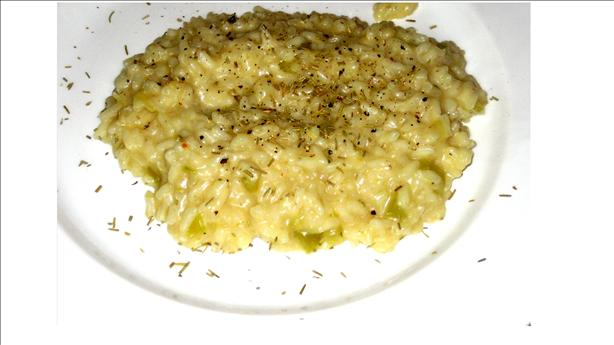 Spring Risotto With Shallots and Lemon