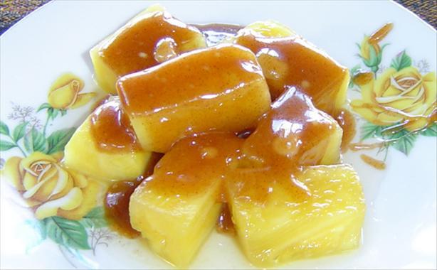 Creme Brulee Dessert Sauce