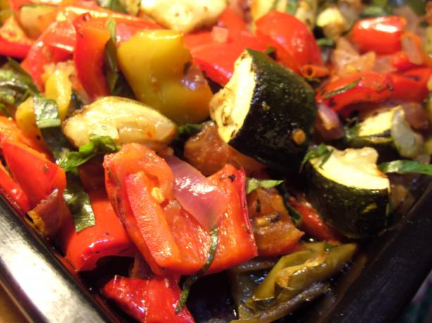 Baked Vegetable Ratatouille