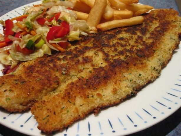 Yummy and Easy Crumbed Fish