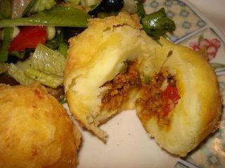 Rellenos De Papa (Stuffed Mashed Potatoes)