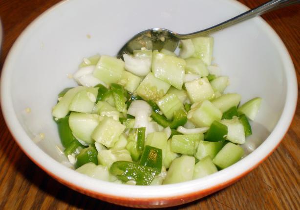 Confetti Cucumber Salad