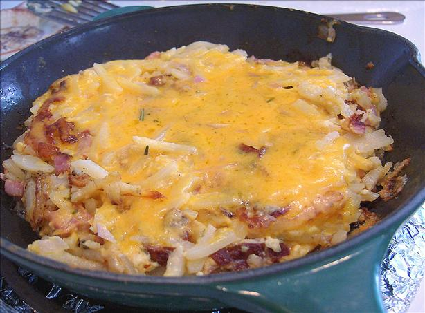 Ham and Cheese Rösti