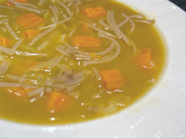 Pizzoccheri Soup