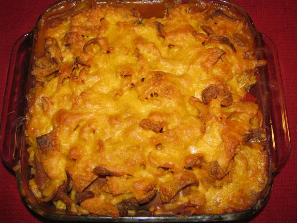 Chili-Cheese Burger Bake