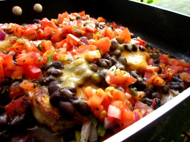 Chicken With Mexican Topping