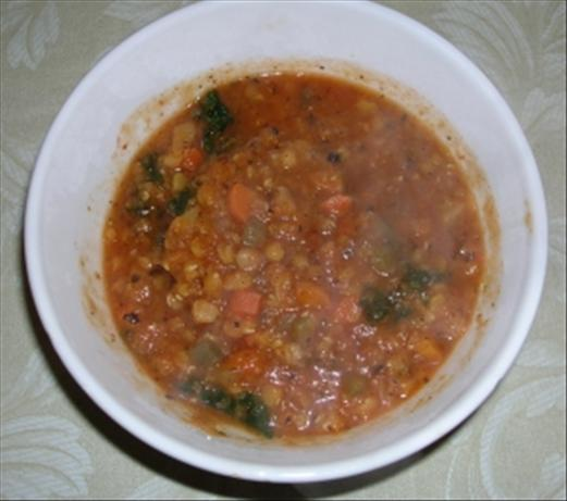 Tasty Sloppy Lentils