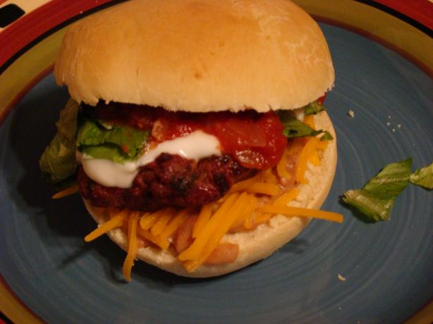 Fiesta Burrito Burgers