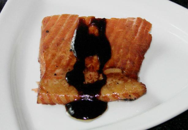 Amaretto Oriental Salmon