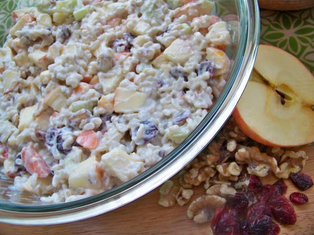 Waldorf Brown Rice Salad