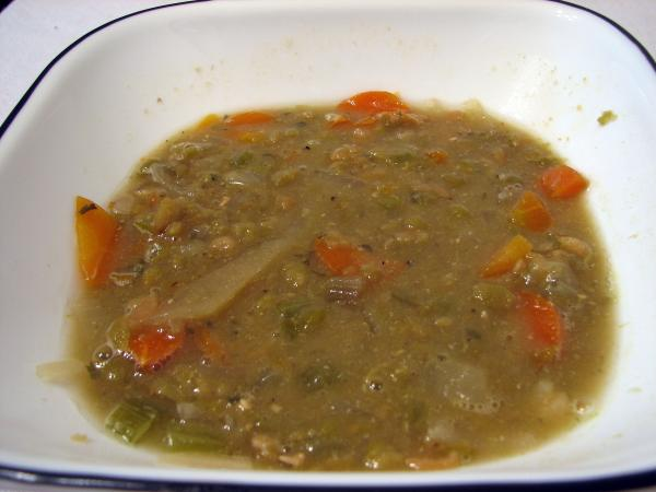 All Day Pea Soup (Crock Pot)