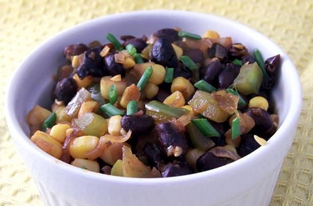 BBQ Black Beans and Corn