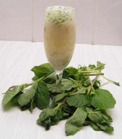 Lychee Mint Champagne