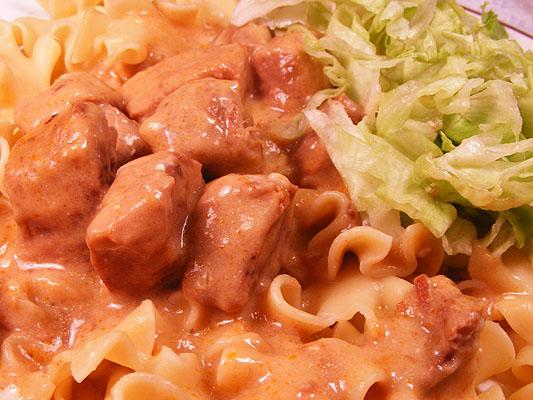 My Father's Beef Stroganoff