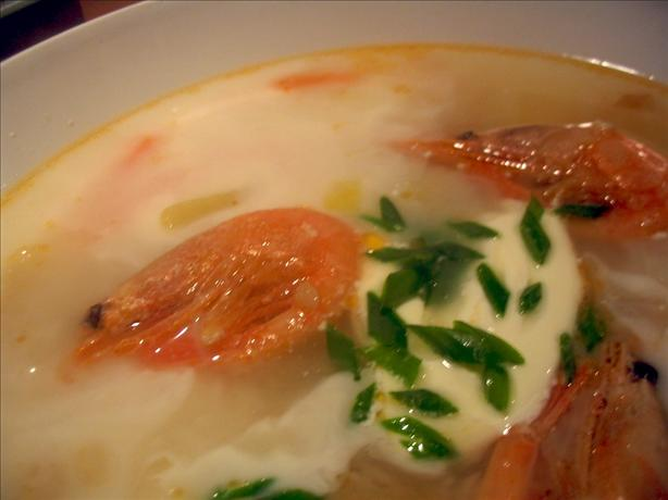 Garlic, Chilli and Ginger Seafood Chowder