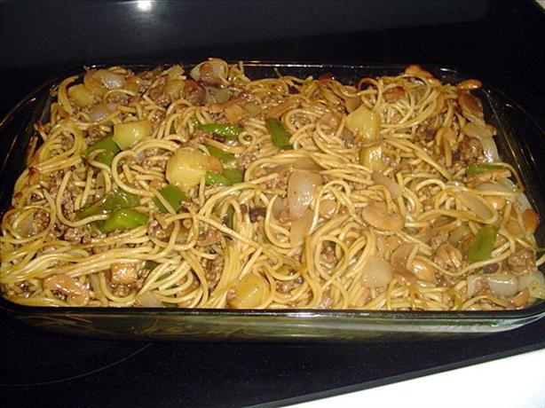 Hawaiian Spaghetti