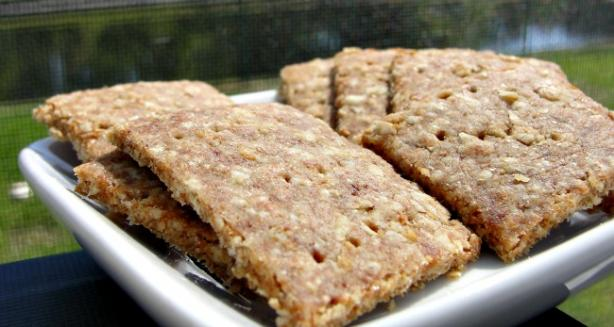Oatmeal Wheat Crackers