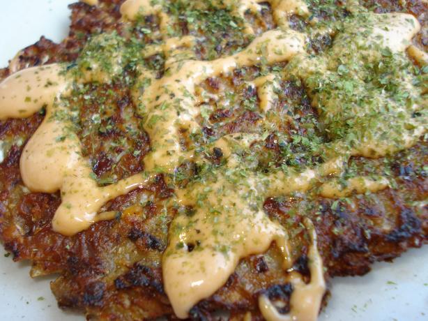 Japanese Vegetable Pancakes (Okonomiyaki)