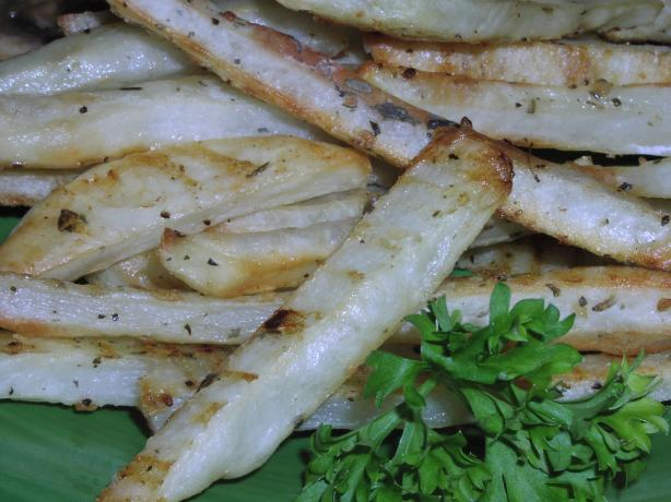 "Roasted ""french Fried"" Potatoes (Low Fat)"