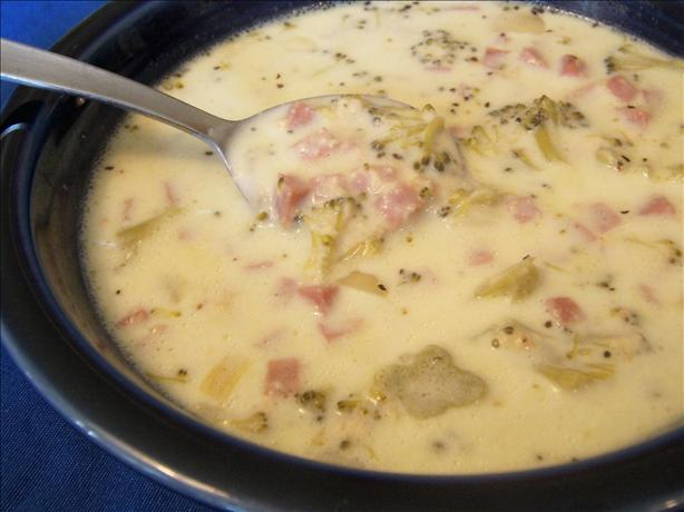 Ham and Broccoli Chowder