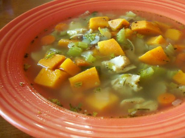 Craftscout's Leftover Turkey Soup