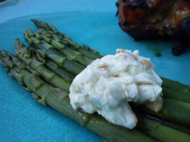 Asparagus With Cashew Butter