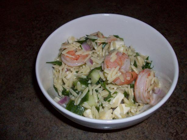 Barefoot Contessa's Roasted Shrimp and Orzo