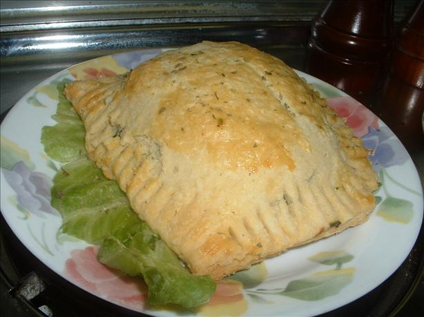 Spinach Pastry (Almost Spanakopita)